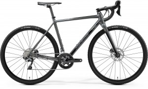 MERIDA MISSION CX 700 M 53 CM GLOSSY DARK GREY(BLACK) PRZEŁAJ