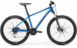 "MERIDA BIG SEVEN 100-D L 19"" GLOSSY BLUE(RED) 2019"