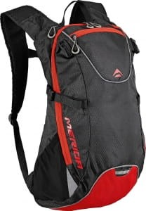 PLECAK MERIDA BG-MD110 15L BLACK/RED