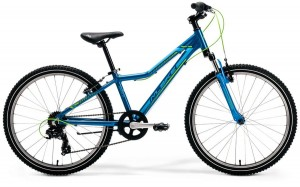 "M-BIKE J24 12""BLUE/LIGHT-BLUE/GREEN GIRL"