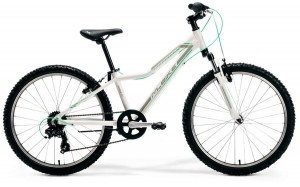 "M-BIKE J24 12"" WHITE/GREY/MINT GIRL"