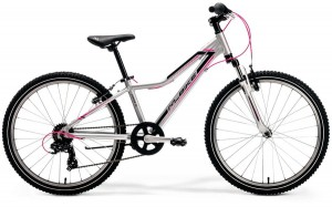 "M-BIKE J24 12"" SILVER /BLACK/PINK GIRL"