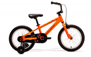 "M-BIKE KID J16 8"" NEON ORANGE/BLACK (KITE)"