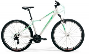 "M-BIKE EMI 27,5 5-V L 19"" WHITE/LIGHT-MINT/MINT"