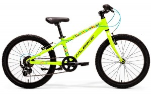 "M-BIKE J20 10"" NEON GREEN/BLACK"