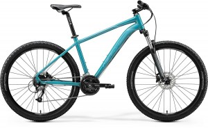 "MERIDA BIG SEVEN 40-D M 17"" GLOSSY TEAL(BLACK/SILVER-TEAL) 2020"