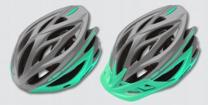 KASK MERIDA COSMO M(54-58CM) GREY/LIGHT GREEN HM-M