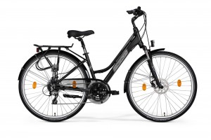 MERIDA FREEWAY 9200 DISC LADY 40 CM SEMIMATT BLACK/GREY
