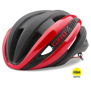 KASK GIRO SYNTHE MIPS L 59-63 RED/BLACK MAT 2017 SZOSA