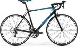 MERIDA SCULTURA 100 S/M 52CM BLACK/BLUE 2017