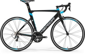 MERIDA REACTO 300 M/L 54CM MATT BLACK/BLUE -GREY 2017