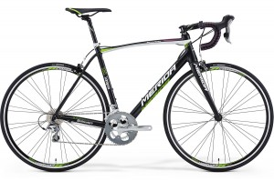 MERIDA SCULTURA 300 L 56  BLACK-LAMPRE FUCHSIA TEAM REPLICA 2015