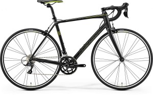MERIDA SCULTURA 200 S/M 52CM MATT METALLIC BLACK -GREEN 2017