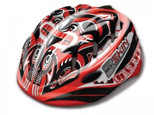 KASK B-SKIN KIDY PRO RED S (48-52cm) HM-BS171