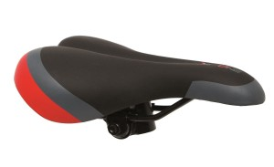 SIODEŁKO DE ONE MTB BLACK-GREY-RED