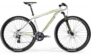 "MERIDA BIG.NINE 40-D 17"" WHITE(LIGHT GREY/GREEN) 2015"