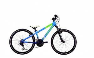 "CORRATEC X-VERT TEEN 24"" BLUE/LIME/WHITE SALE%%%"