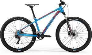 "MERIDA BIG SEVEN 300-D L 19"" METALLIC BLUE (RED)2018"