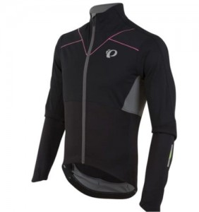 PEARL IZUMI PRO PURSUIT SOFTSHELL BLACK L %%%