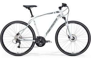 CROSSWAY 40-MD 52CM 2015 MET. WHITE(ANTHRACITE/SILVER)