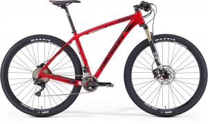 "MERIDA BIG.NINE XT 21"" RED (BLACK) 2016"