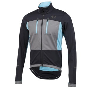 PEARL IZUMI ELITE ESCAPE SOFTSHELL L BLACK/GREY/BL