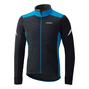 SHIMANO PERFORMANCE INSULATED WINDBREAK BLACK/BLUE L
