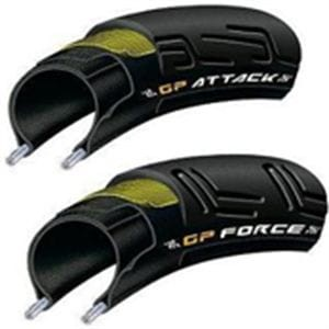 CONTINENTAL GRAND PRIX ATTACK&FORCE III 700X23/25C VECTRAN TPS
