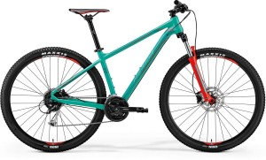 "MERIDA BIG.NINE 100-D L 18,5""GREEN (RED/DARK GREEN)2018"