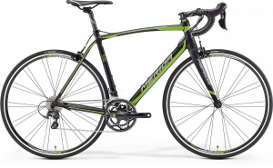 MERIDA SCULTURA 500 M/L 54 MATT BLACK (GREEN/GREY)2016