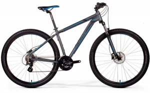 "MERIDA BIG SEVEN 15-D L 18,5""MATT DARK SILVER(BLUE/BLACK) 2019"