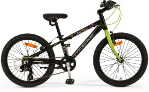 "M-BIKE J20 10"" BLACK / LIGHT-GREEN"