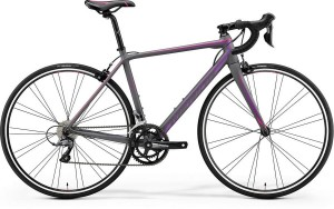 MERIDA SCULTURA 100 JULIET S/M 52CM MATT GREY (PINK/PURPLE) 2018