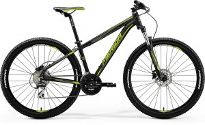 "MERIDA BIG SEVEN 20-D 18,5"" L MATT BLACK (GREEN) 2018"