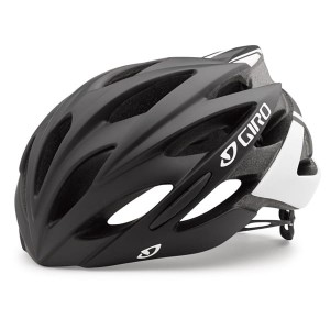 GIRO SAVANT MATTE BLACK-WHITE L 59-63 2017