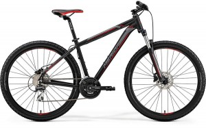 "MERIDA BIG SEVEN 20-D L 18,5"" MATT BLACK(RED/SILVER)2019"