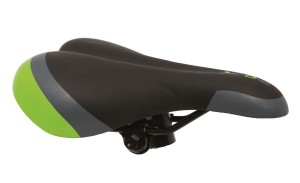SIODEŁKO DE ONE MTB BLACK-GREY-GREEN