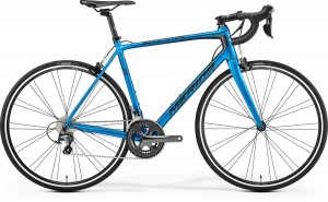 MERIDA SCULTURA 300 M/L 54CM METALLIC BLUE/BLACK 2017
