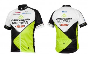 MERIDA MULTIVAN BIKING TEAM XL KRÓTKI RĘKAW