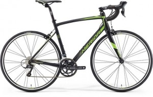 MERIDA RIDE 100 M/L 54 CM SILK BLACK(GREEN) 2016