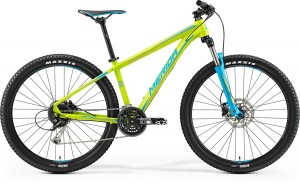 "MERIDA BIG SEVEN 100 20"" MATT LIME -BLUE 2017"