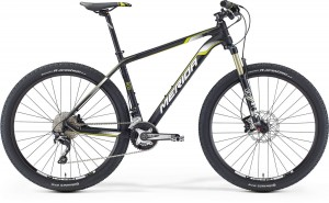 "MERIDA BIG SEVEN 800 20"" MATT BLACK (YELLOW/WHITE)2016"